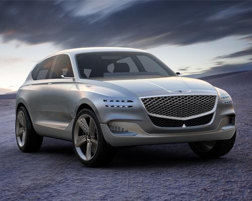 Genesis GV80插电式氢燃料豪华SUV概念车型亮相纽约车展