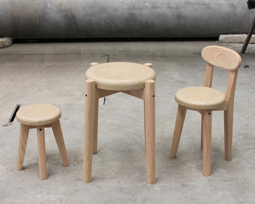 daniel lev coleman 新款家具系列lintite亮相米兰设计周