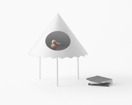 nendo为cappellini独家打造帐篷小桌