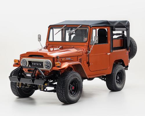 FJ公司推出定制车型FJ40