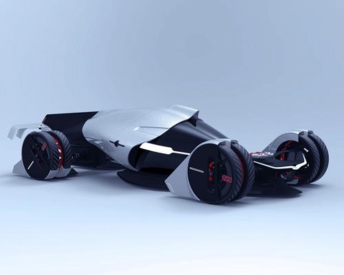 特斯拉T1概念车配备垂直轴风力发电机