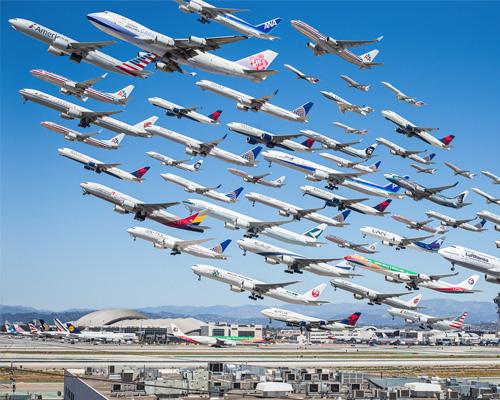 美国洛杉矶摄影师Mike Kelley向人们展示天空的忙碌