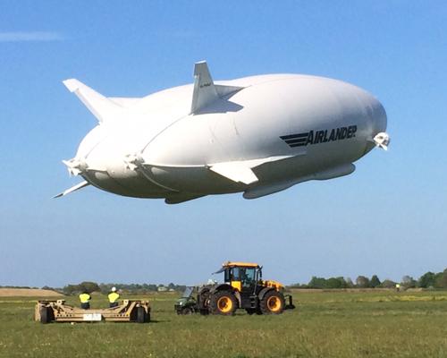 混合式飞艇公司推出的Airlander 10再次进行试飞