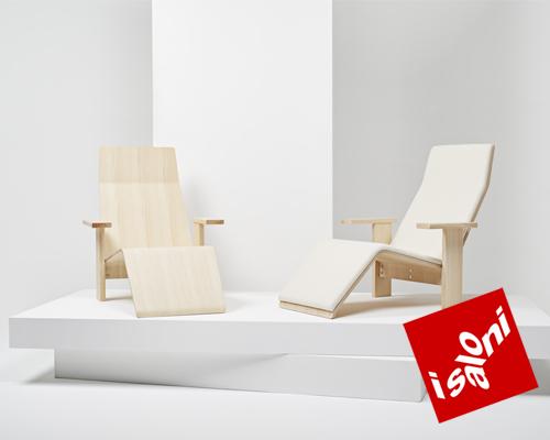 ronan and erwan bouroullec新款座椅亮相米兰家具展