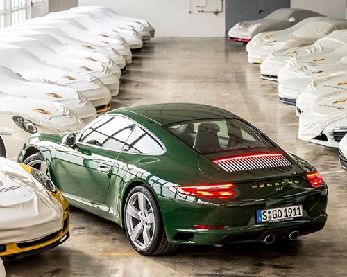 第100万辆保时捷911正式驶下生产线
