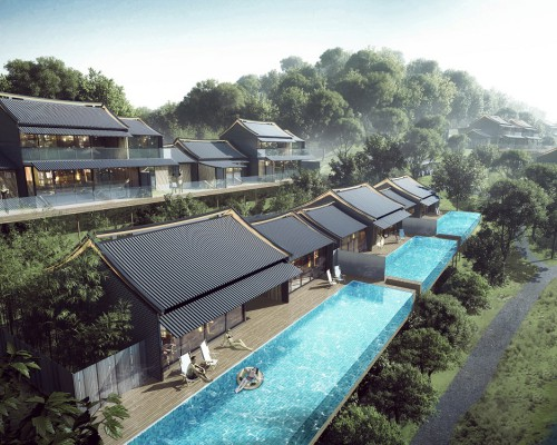 Aedas发布中国南方世界顶级度假酒店竞赛获胜项目方案设计