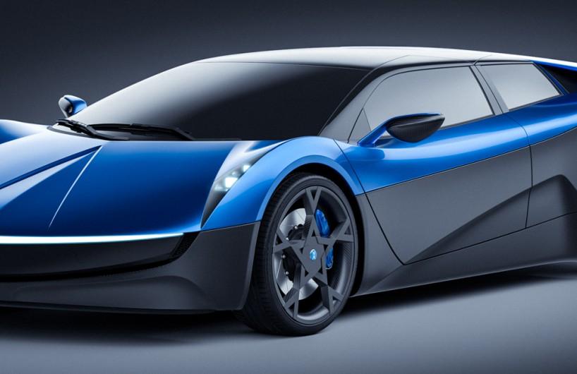 瑞士Elextra发布电动超级跑车挑战特斯拉