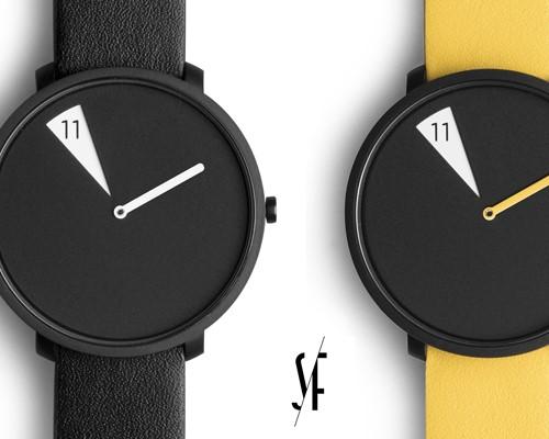sabrina fossi design推出极简主义时尚腕表