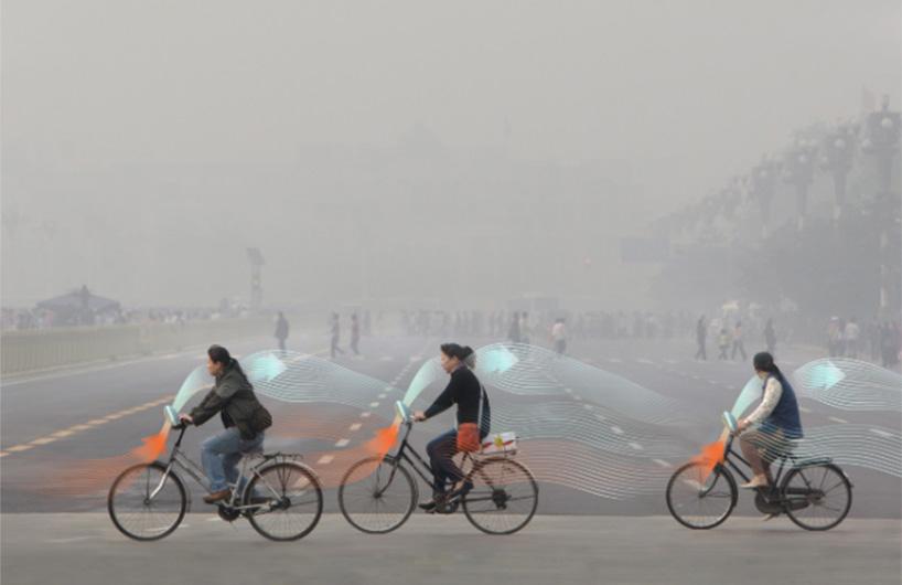 世界最大室外空气净化器效果获专家权威测评认证 设计师发布减霾单车概念