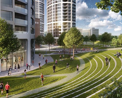 扎哈·哈迪德建筑事务所公布布拉迪斯拉发空中花园总体规划