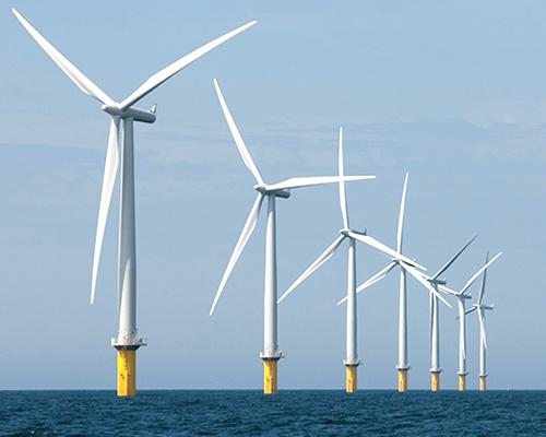 英国海岸安装世界的最大风力发电机