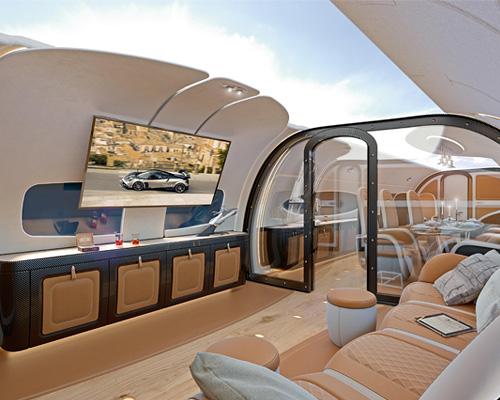 空客客车公司与帕加尼联手推出终极超跑客舱