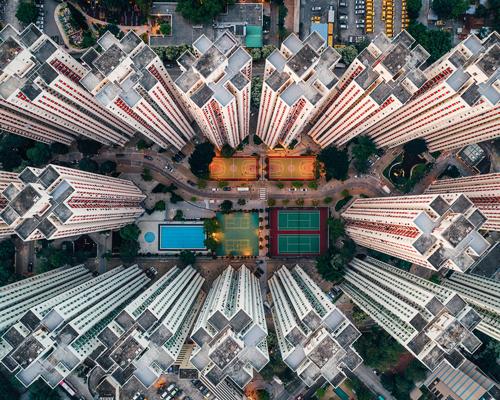 航拍下的香港 幽闭而又美丽