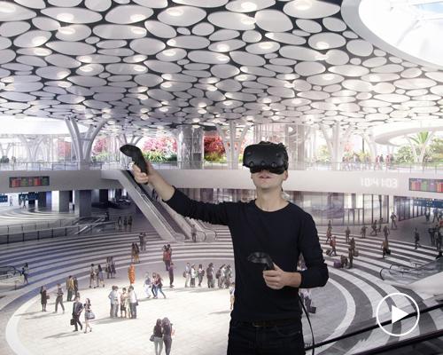 虚拟现实为梅卡诺建筑师事务所提供了一种新的设计方式