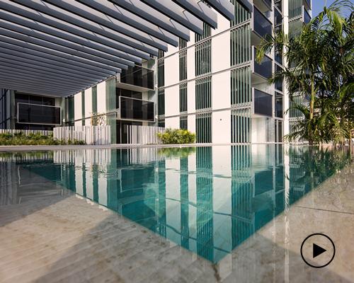 普利茨克奖获得者RCR事务所完成第一个迪拜塔式高层住宅项目