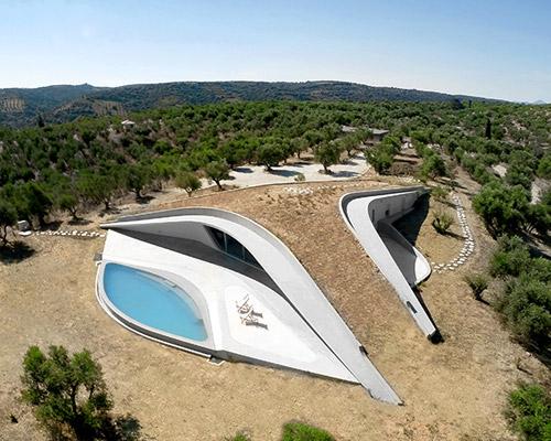 LASSA打造ypsilon别墅作为希腊景观的延伸