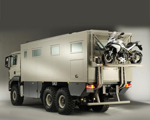 奥地利Action Mobil发布房车XRS 7200