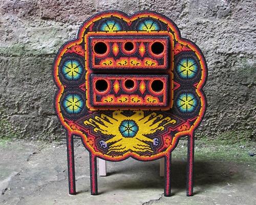 los wixarika系列家具 墨西哥文化与功能艺术的结晶