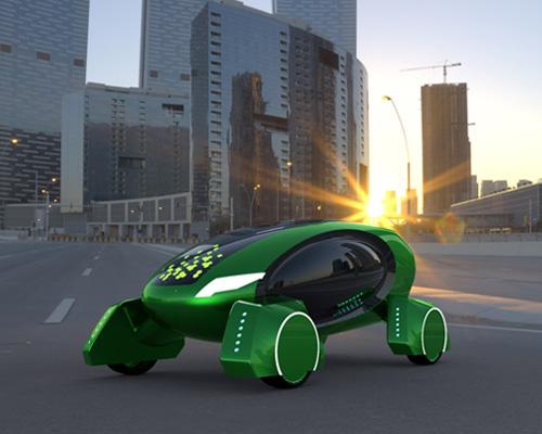 自动驾驶机器人舱Kar-go可以将包裹送到门前