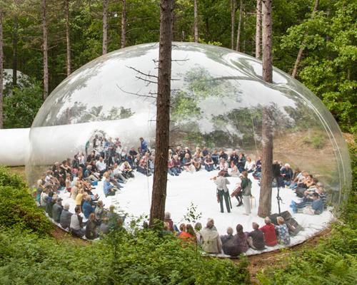 oerol festiva柔软透明的舞台|挑战对时间的感知
