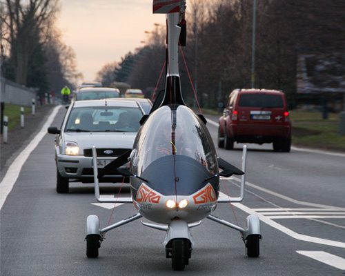 Nirvana Systems推出合法授权的飞行汽车GyroDrive