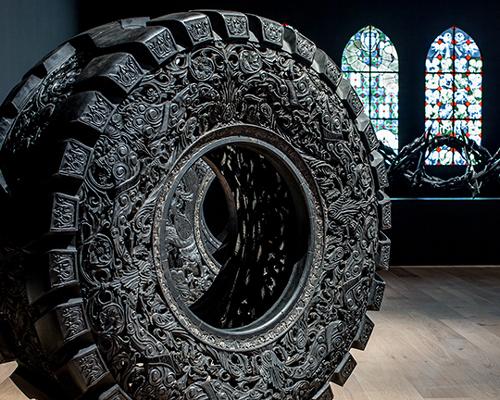 museum tinguely为wim delvoye举办回顾展