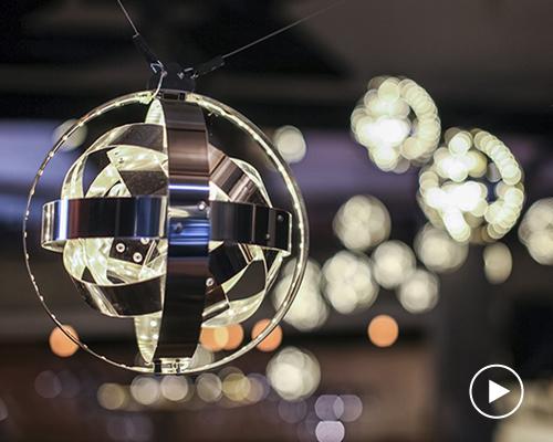 动态照明装置 模仿行星运动方式