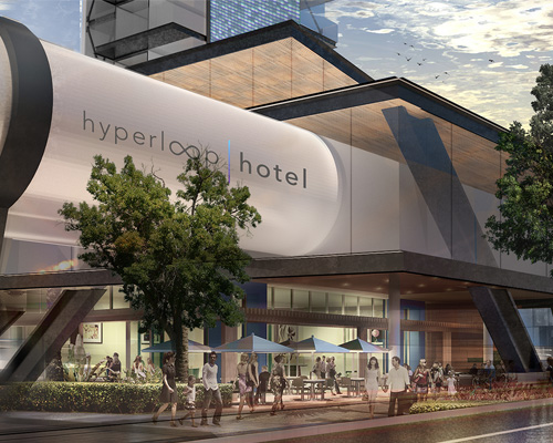 建筑学家Brandan Siebrecht将在超级高铁里建造豪华酒店