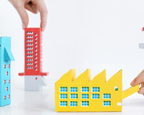 zupagrafika全新剪纸书 属于你自己的构建主义游乐场