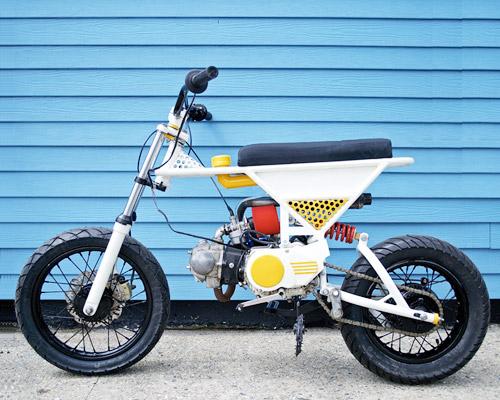 非常传统70cc通勤摩托 轻便堪比自行车