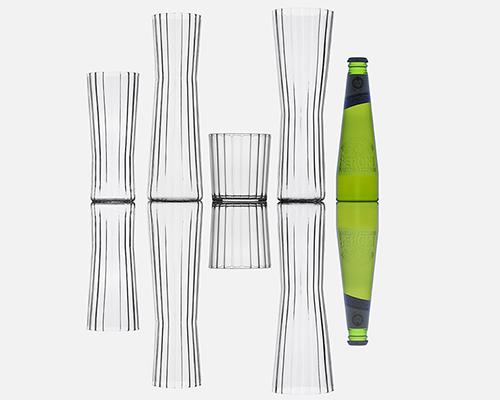 剔透玻璃杯 用传统工艺发扬创新