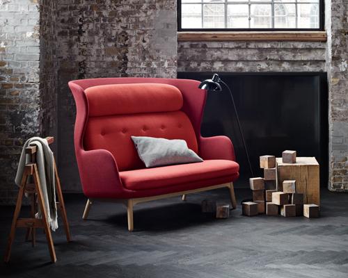 ro双人沙发 在开放空间中营造私密感