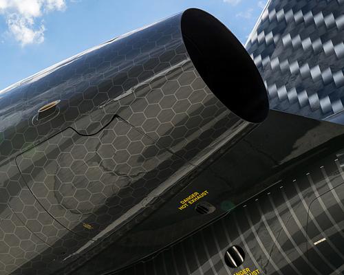 happy design studio飞机CARBONEUM 竞争与力量精神的象征