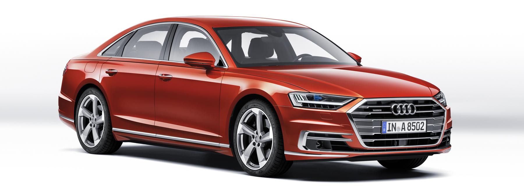 奥迪推出全新a8和a8 l展示奢侈汽车品牌的未来