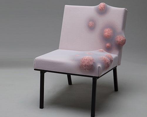 肿瘤椅子伤口凳 诡异家具挑战人类舒适感
