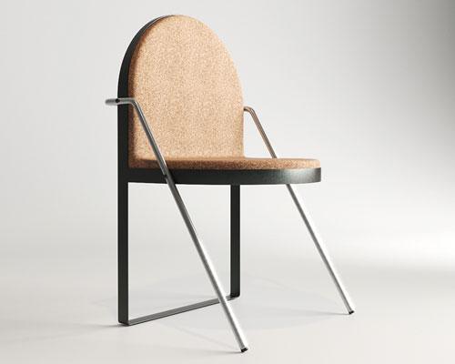 koloskov dmitry打造软木椅archair 办公室完美搭配