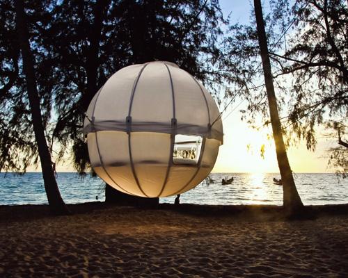 现代版全新树屋cocoon tree 畅享私密野营空间