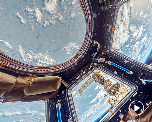 谷歌街景可以用来探索国际空间站了