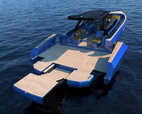意大利Evo设计模块化WA游艇