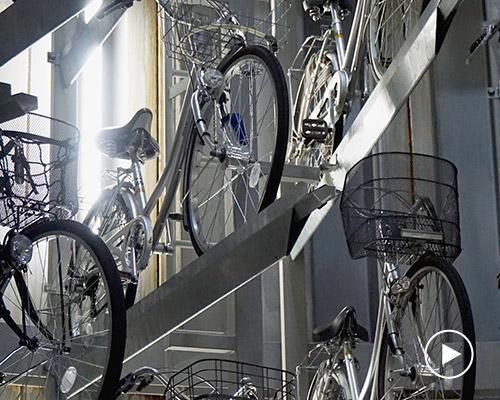 日本Eco-Cycle自行车地下自动停车场