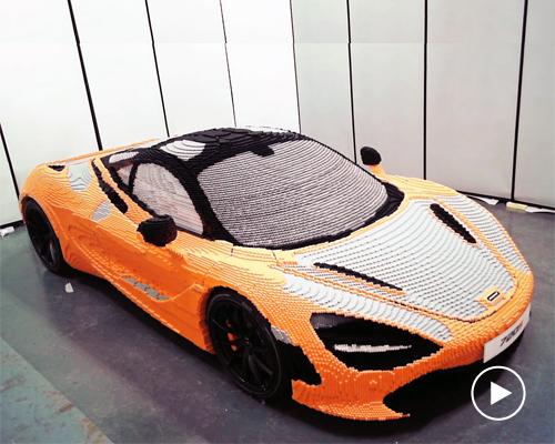 乐高全尺寸McLaren 720S超级跑车