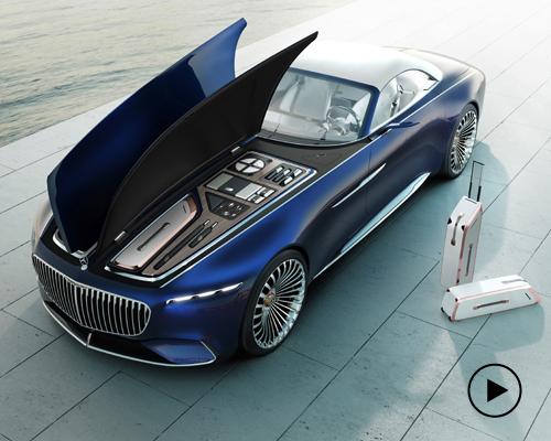 巨型梅赛德斯-迈巴赫6 Cabriolet敞篷电动概念车
