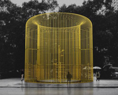 艾未未在纽约的围栏主题展览
