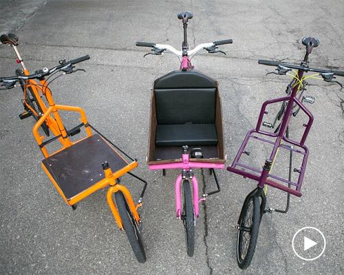 Recycle私人订制小货车 废弃自行车打造而成