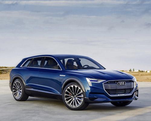 奥迪开发会吸收太阳能的电动汽车车顶