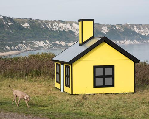 英国福克斯顿三年展上的度假小屋