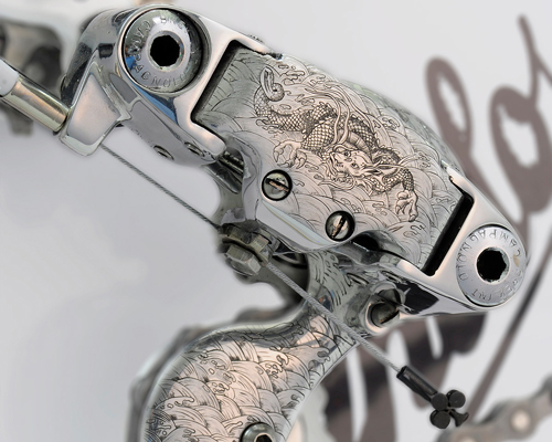 vintage luxury bicycles单车系列 雕刻细节彰显日式文化