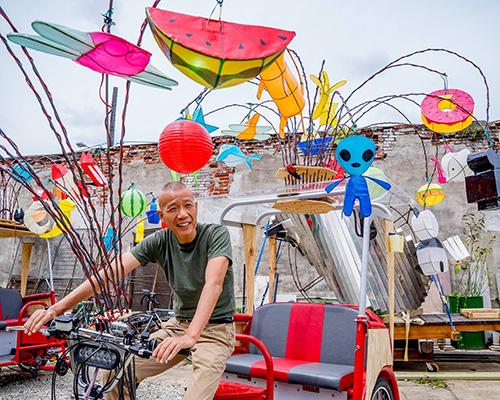 中国传统花灯为费城庆典献礼