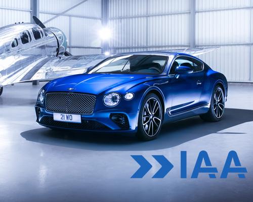 宾利全新欧陆GT在2017年IAA上全球亮相