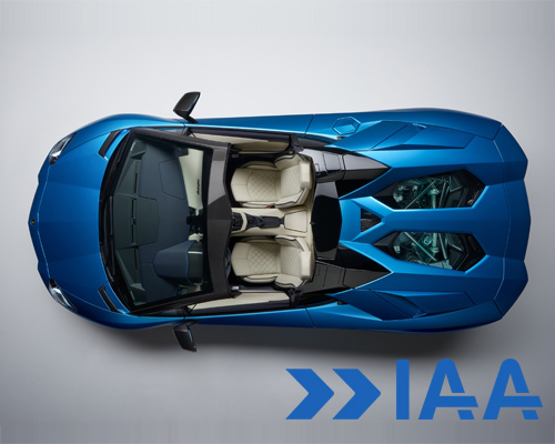 兰博基尼2017年法兰克福车展发布敞篷版 Aventador S Roadster